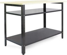 Table Reglable, Table Saw, Portable Work Table, Metal Work Table, Workbench Table, Garage Repair, Home Tools, Garage Workshop, Storage Compartments