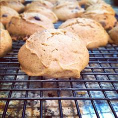 The best pumpkin cookies ever.  1 Spice cake mix 2 eggs 1/3 cup oil 1/2 can of pumpkin Chocolate chips (as many as you want)  Mix together. Cook at 350 for 12 minutes. Remove immediately and let them cool. SO YUMMY.