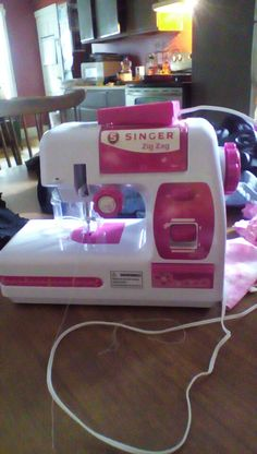 Got a new sewing machine today