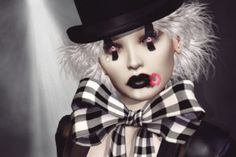 Beautiful womens, handsome mens, actresses, celebrities, actors… All people hd wallpapers in this category … Creepy Carnival, Send In The Clowns, New Wallpaper, Halloween Face Makeup, Goth, Handsome, Beautiful Women, Vogue, Actresses
