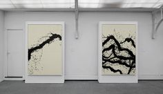 Walking – paintings — Fabienne Verdier