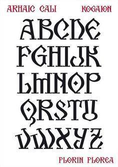 Letras antigua