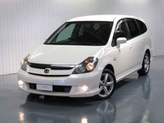 HONDA STREAM 2.0 AUTOMATIC VTEC SE SPORT * 7 SEATS FR-V SHUTTLE MPV * PEARL WHITE North East suppliers of Used Japanese cars and  classic cars