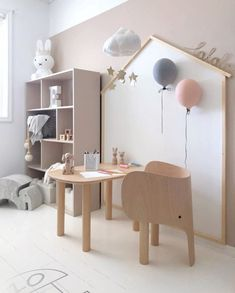The Coolest Kids Furniture - Elephant Chair Design for Children by Marc Venot fo.- The Coolest Kids Furniture – Elephant Chair Design for Children by Marc Venot for Danish Design House EO Baby Room Design, Girl Bedroom Designs, Playroom Decor, Baby Room Decor, Modern Playroom, Kids Decor, Decor Ideas, Kids Furniture, Refurbished Furniture