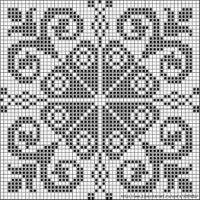 Cross Stitch Borders, Cross Stitch Charts, Cross Stitch Designs, Cross Stitching, Cross Stitch Embroidery, Cross Stitch Patterns, Filet Crochet Charts, Crochet Cross, Crochet Motif