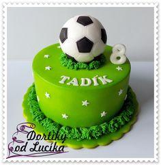Football Theme Birthday, Soccer Birthday Cakes, Soccer Cake, Themed Birthday Cakes, Frozen Birthday, Themed Cakes, Sport Cakes, Beautiful Birthday Cakes, Birthday Cake Decorating