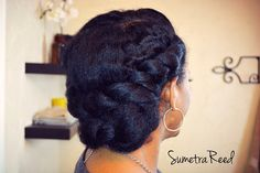 Updo Hairstyle Low Bun Updo with Flat-Twists – Gloria Wilson Updo Hairstyle Low Bun Updo with Flat-Twists low bun updo hairstyle for black women Hair Styles 2016, Curly Hair Styles, Natural Hair Styles, Low Bun Hairstyles, Black Women Hairstyles, Indian Hairstyles, Natural Updo Hairstyles, Amazing Hairstyles, Wedding Hairstyles