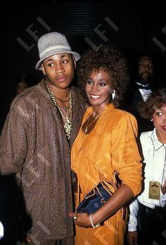Whitney w/ LL Cool J. Two of my FAVORITE from the 80's & 90's!!