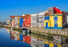 @Aveiro - Portugal - People in this seaside city like go Pantone on their houses :)