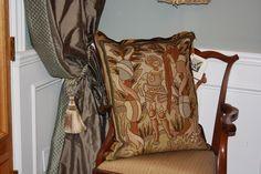 Antique French needlepoint pillow by E Alexander Designs Needlepoint Pillows, French Antiques, Cushions, Throw Pillows, Home, Design, Toss Pillows, Toss Pillows, Pillows