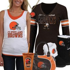 45 Best Cleveland Browns Fashion, Style, Fan Gear images in 2016  free shipping