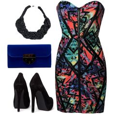 party rock., created by dresdenkay on Polyvore
