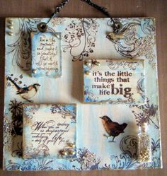 Ink on My Fingers: Sunday Stampers - Week 111 - Song Sung Blue