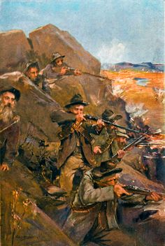 Natal Boers defend the Tugela River blocking Methuens advance on Ladysmith - December 1899 Military Art, Military History, War Film, Film Inspiration, Quote Backgrounds, Modern Warfare, Zulu, Historical Pictures, African History