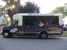 Celebrating a birthday, bachelorette party, bachelor party or big event? Rent the #Dells #LimoKings #PartyBus!  Featuring: Full bar New sound system Black lighting Flat screen TV / Play Station Laser and Strobe Lights Wrap around seating