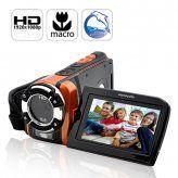 Ultra Rugged HD Sport Camcorder (1080p, Waterproof, Macro Function)