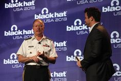 Hackers to NSA chief: Read the Constitution -- an interesting conversation between hackers at the Black Hat convention and the NSA chief.
