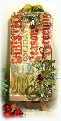 Inspiration Lane, (via Anne's paper fun: 12 tags of Christmas tag 3)