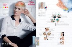 Wella Professionals Magma By Blondor Creative Toning Step-by-Step.