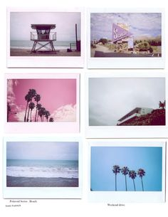 Beach Polaroids, Emily Faulstich.