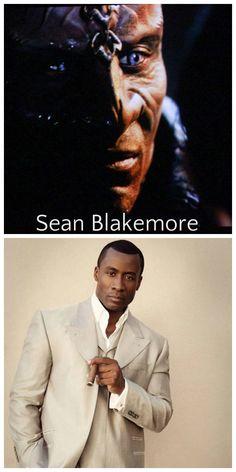 "Sean Blakemore as a Klingon in ""Star Trek: Into Darkness"""
