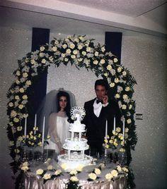 Elvis & Priscilla Presley Wedding Reception @ Graceland ~ Priscilla is the only 1 to ever be Mrs Elvis Aaron Presley!
