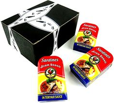 Ayam Brand Sardines in Teriyaki Sauce, 4.2 oz Tins in a Gift Box (Pack of 3) - http://mygourmetgifts.com/ayam-brand-sardines-in-teriyaki-sauce-4-2-oz-tins-in-a-gift-box-pack-of-3/