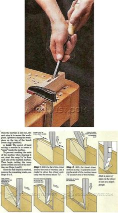 Mortise by Hand - Joinery Tips, Jigs and Techniques | WoodArchivist.com
