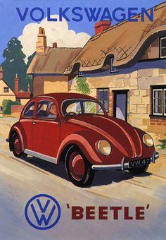 VW Travel Poster