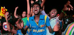 Sri Lanka's cricket fans took to the streets to celebrate their team's World title, waving flags, cheering and lighting firecrackers. Colombo Sri Lanka, Cricket Today, A Night To Remember, Cricket World Cup, World Cup Final, Victorious, Sri Lankans, Dhaka Bangladesh, Celebrities