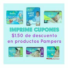 604d67c1a Imprime cupones de hasta  1.50 para ahorrar en pañales Pampers