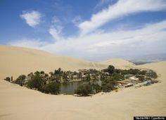 Sand Board at Huacachina