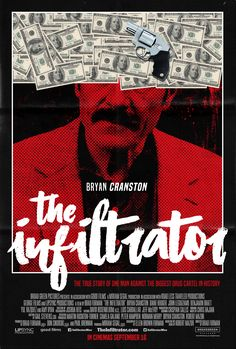 The Infiltrator movie poster Designed by Marrakchi