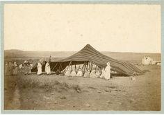 Algérie, Campement arabe Vintage albumen print. Tirage albuminé 18x21 C | Collections, Photographies, Anciennes (avant 1900) | eBay!