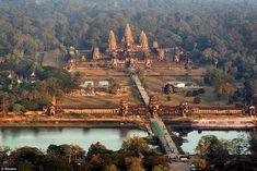 Angkor Wat in Cambodia - Overview of Angkor Wa