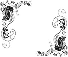 Florales Vector Gratis Dos Ornamentos Decorativos Ajilbabcom Portal