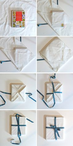 Wrapping techniques - Furoshiki