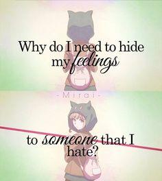 لم علي أن أخفي مشاعري لشخص أكرهه Mangapanda