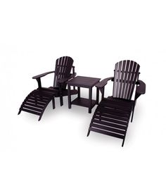 Relax tuinstoel set zwart- uit exclusief mahoniehout (2 stoelen + 2 voetenbankjes + sidetable) Outdoor Chairs, Outdoor Furniture Sets, Outdoor Decor, Sun Lounger, Relax, Toronto, Home Decor, Products, Chaise Longue