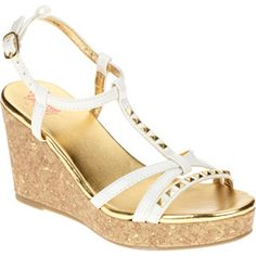 ad319f727be Faded Glory - Faded Glory Gmg Fg Sandal Stud Wedge - Walmart.com