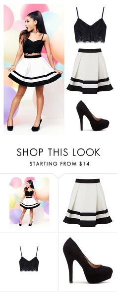 """Ariana Grande Outfit"" by candy-girl-03 on Polyvore featuring Lipsy"