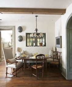 """french Country"" ""breakfast Nook"" ""built-in"" Design, Pictures, Remodel, Decor and Ideas - page 56"