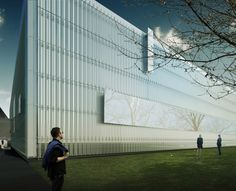 Corning Museum of Glass North Wing Unveiled / Thomas Phifer and Partners (2)