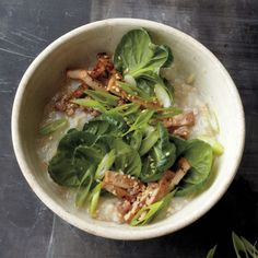 Spinach Tofu and Brown Rice Bowl (Week 3)