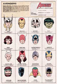 Byrne Robotics: JB Marvel Head Logos John Byrne Faces Cover Corner Art.