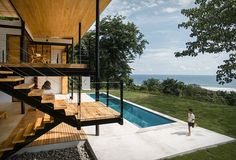 Ocean Eye House in Costa Rica by  Benjamin Garcia Saxe