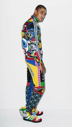 Jeremy Scott Adidas Originals Mens Totem Pole Look