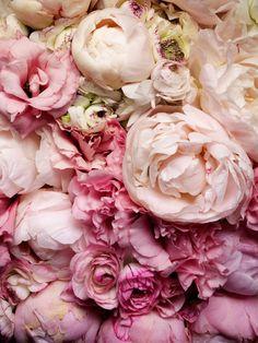 искусство, букет, состав, цветочный, цветы, вдохновение, природа, живопись, пастель, узор, пионы, розовый, обои для рабочего стола