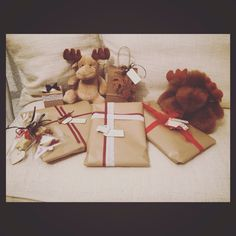Aria di Natale. Deliziosi pacchettini