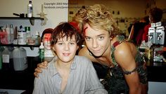 Jeremy Sumpter from Peter Pan with John darling